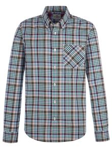 Ben Sherman Long Sleeve Tartan Gingham Shirt