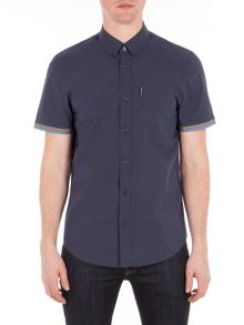 Ben Sherman Short Sleeve Marl Tipped Shirt
