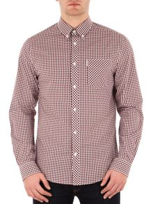 Ben Sherman Long Sleeve Core Gingham Shirt