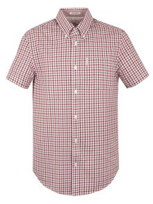 Ben Sherman Short Sleeve Mid Scale House Gingham