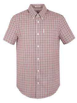 Short Sleeve Mid Scale House Gingham