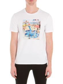 Ben Sherman Pool Party Tee