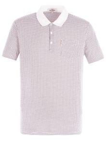 Ben Sherman Micro Retro Geo Polo
