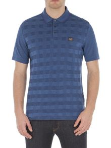 Ben Sherman Two Tone Pique Checkerboard Polo