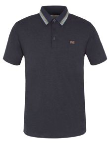 Ben Sherman Marl Tipped Collar Polo