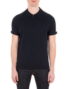 Ben Sherman Short Sleeve Zip Polo