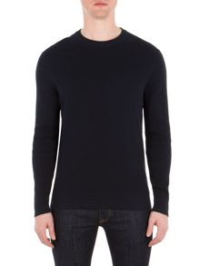 Ben Sherman Tonic Textured Crew Neck Jumper