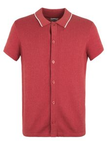 Ben Sherman Short Sleeve Button Through Polo