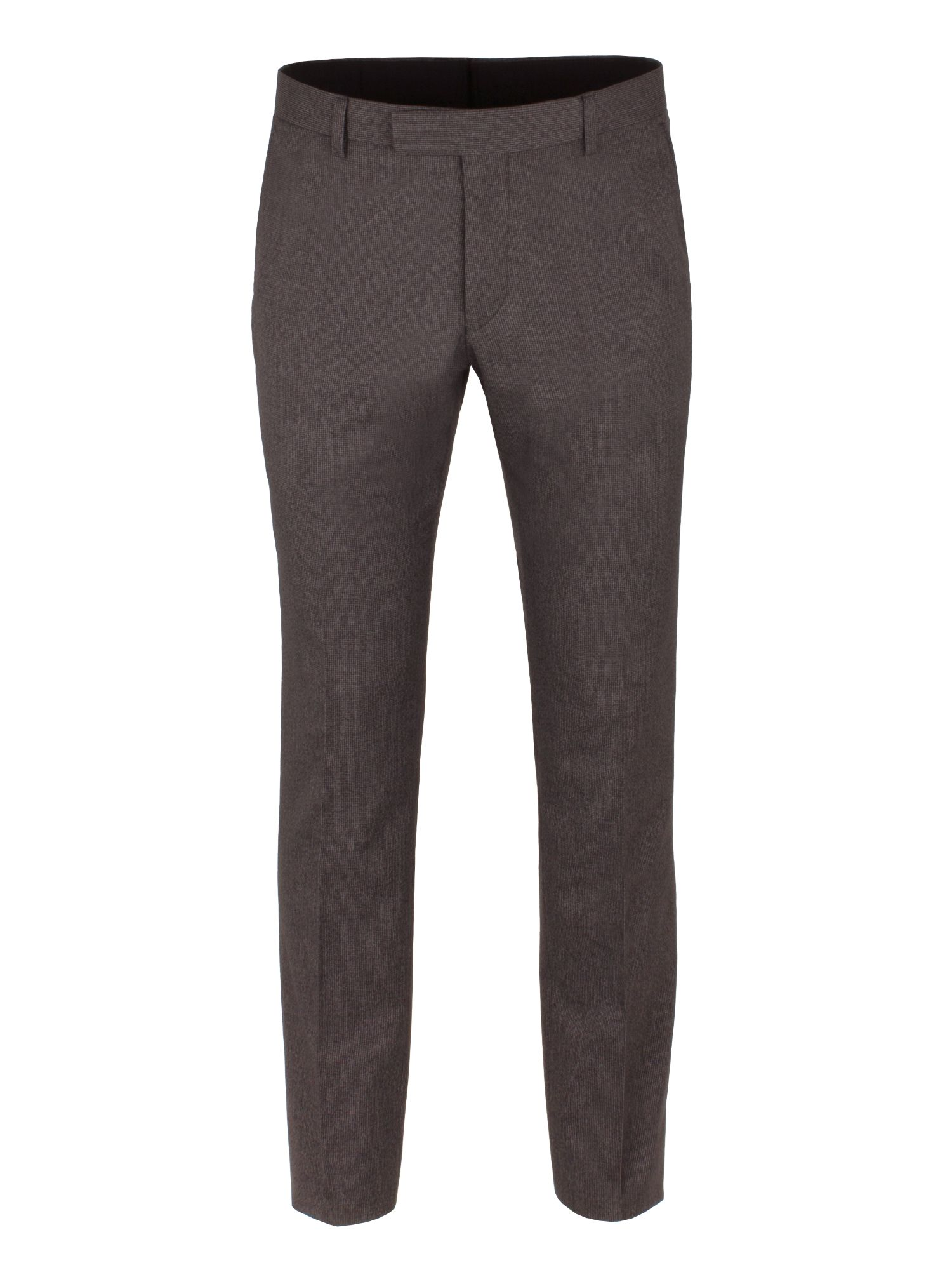 Limehaus Men's Limehaus Grey Puppytooth Trousers, Grey