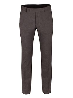 Grey Puppytooth Trousers