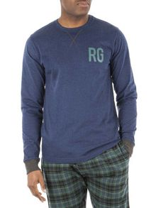 Racing Green Quinton Check Loungewear Set