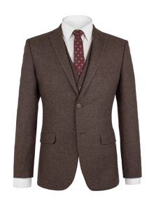 Aston & Gunn Mitton Brown Donegal Jacket