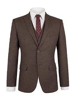 Mitton Brown Donegal Jacket