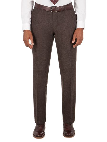 Aston & Gunn Mitton Brown Donegal Trouser