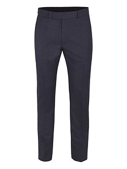 Appley Navy Check Trouser
