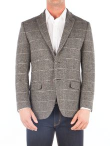Aston & Gunn Walton Grey Check Jacket