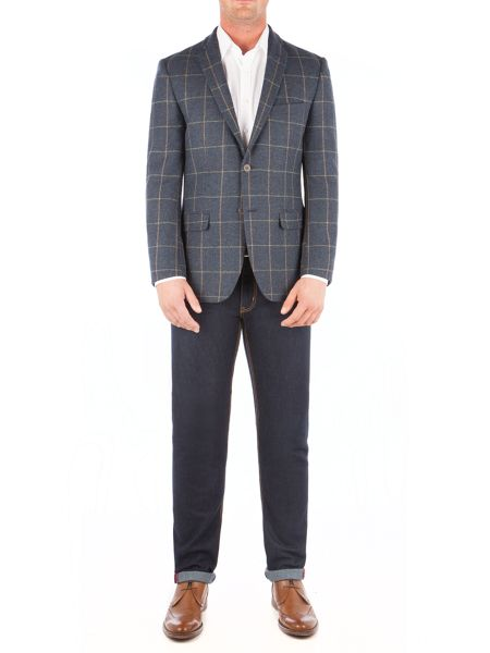 Aston & Gunn Barton Check Jacket