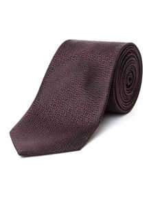 Racing Green Jacquard Pattern Tie