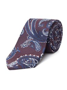 Racing Green Jaquard Paisley Tie