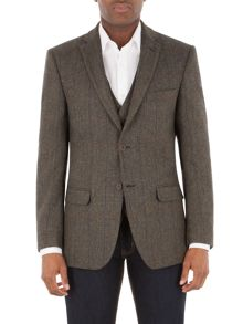 Aston & Gunn Bispham Donegal Check Jacket