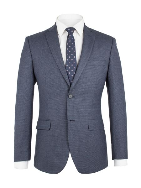 Aston & Gunn Borwick Blue Puppytooth Jacket