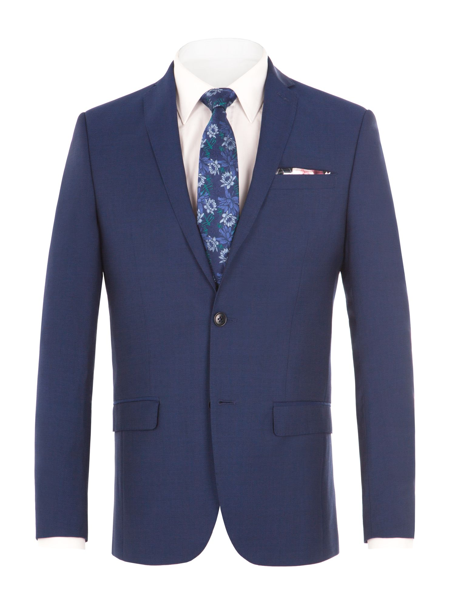 Alexandre of England Men's Alexandre of England Leadenhall Blue Suit Jacket, Blue