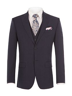 Byward Navy Stripe Suit Jacket