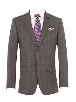 Gracechurch Charcoal Jaspe Suit Jacket