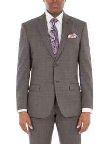 Alexandre of England Gracechurch Charcoal Jaspe Suit Jacket