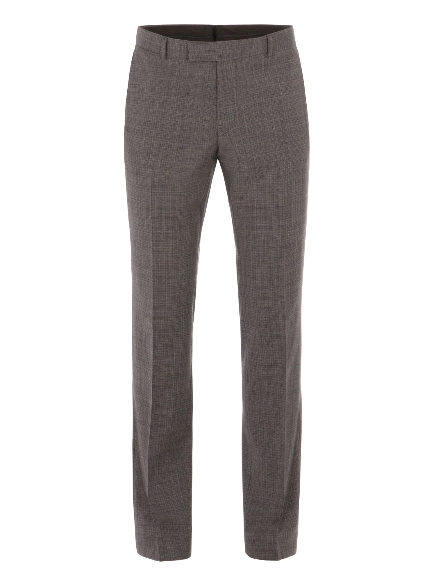 Alexandre of England Men's Alexandre of England Gracechurch Charcoal Jaspe Suit Trouser, Charcoal