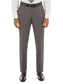 Alexandre of England Gracechurch Charcoal Jaspe Suit Trouser