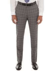 Alexandre of England Crosswall Grey Check Suit Trouser