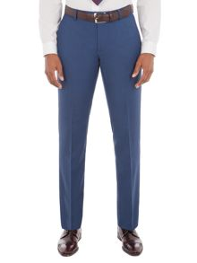 Aston & Gunn Lostock Blue Suit Trousers