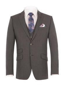 Alexandre of England Thames Charcoal Suit Jacket