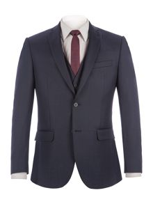 Racing Green Bramley Navy Pick & Pick Jacket