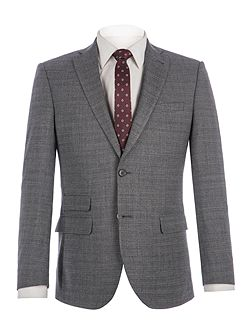 Fyfield Charcoal Jaspe Suit Jacket