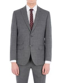 Racing Green Fyfield Charcoal Jaspe Suit Jacket