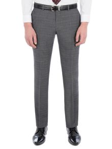 Racing Green Fyfield Charcoal Jaspe Suit Trouser
