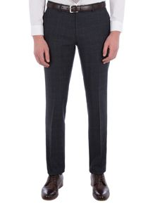Racing Green Fratton Navy Charcoal Check Trouser