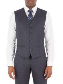 Aston & Gunn Belmont Grey Jaspe Check Suit