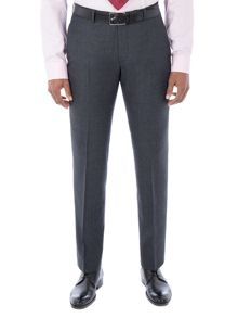 Alexandre of England Coleman Navy Jaspe Check Trouser