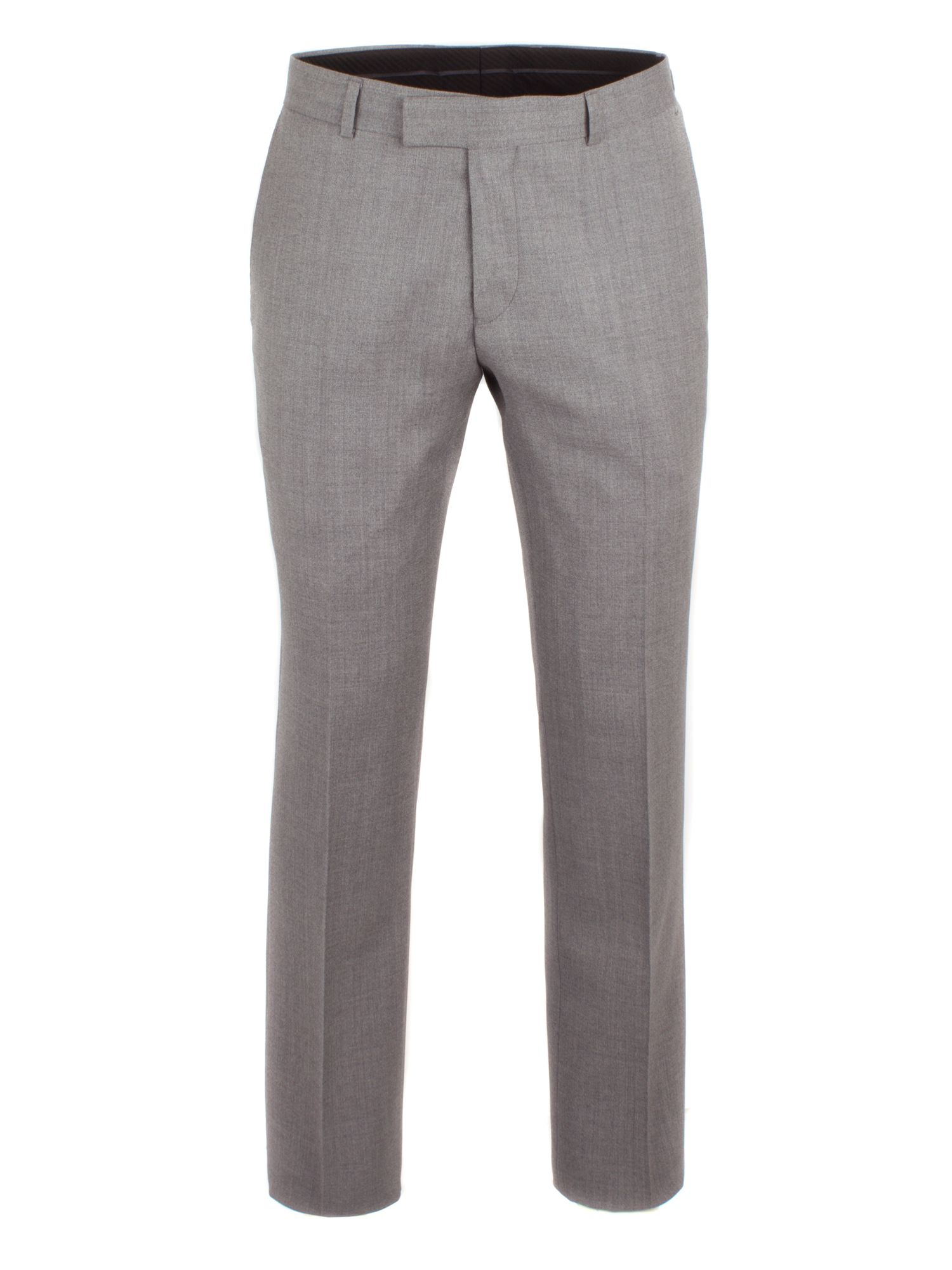 Alexandre of England Men's Alexandre of England Lothbury Grey Crepe Trouser, Grey