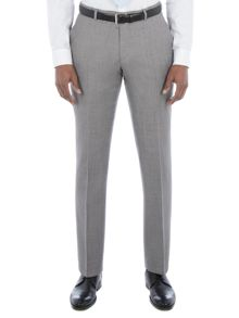 Alexandre of England Lothbury Grey Crepe Trouser