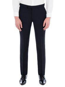 Alexandre of England Bouverie Navy Textured Dresswear Trouser