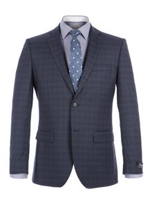 Alexandre of England Goldborne Blue Check Suit