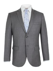 Alexandre of England Roman Grey Sharkskin Suit