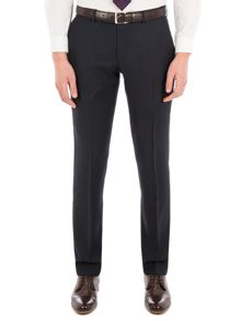 Aston & Gunn Newton Navy Pindot Suit Trouser