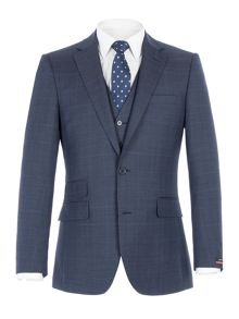 Pierre Cardin Stephen Blue POW Check Jacket