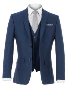 Racing Green Anton Blue Panama Suit Jacket