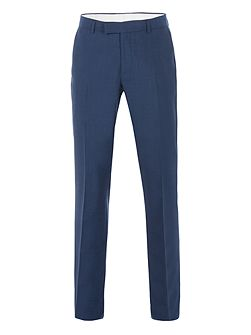 Anton Blue Panama Suit Trouser
